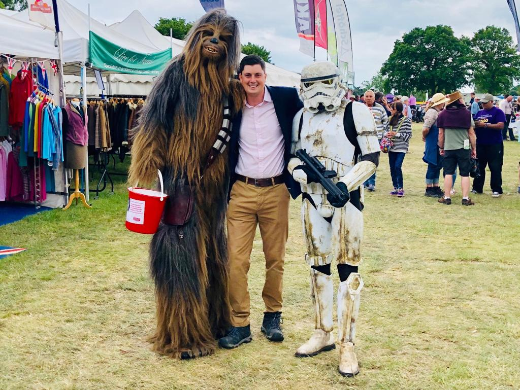 Chewbacca at the Suffolk Show