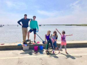 Family fun in Suffolk, Orford Quay