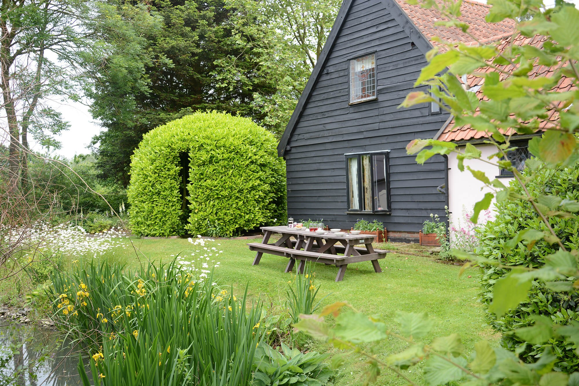 Self Catering with Garden