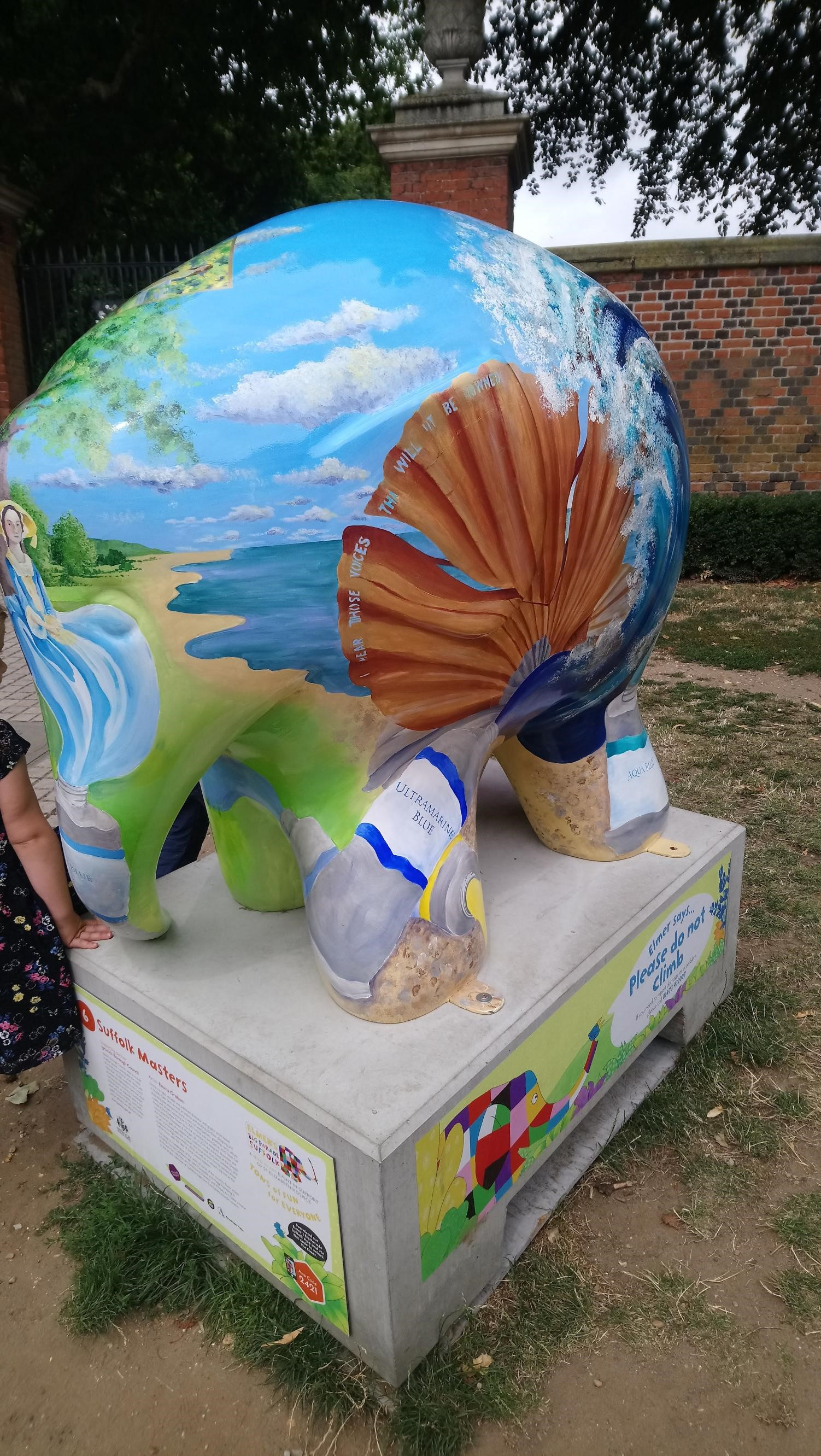 Suffolk artists on Elmer
