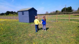 Easter in Suffolk at Southwold Maize Maze