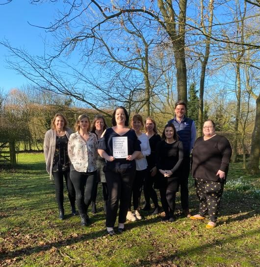 Trusted Service Award for Best of Suffolk