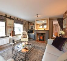 Blog title Charming New Cottage for Two Couples