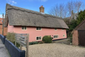 the thatched cottage external