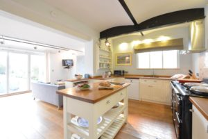 seaview kitchen and living