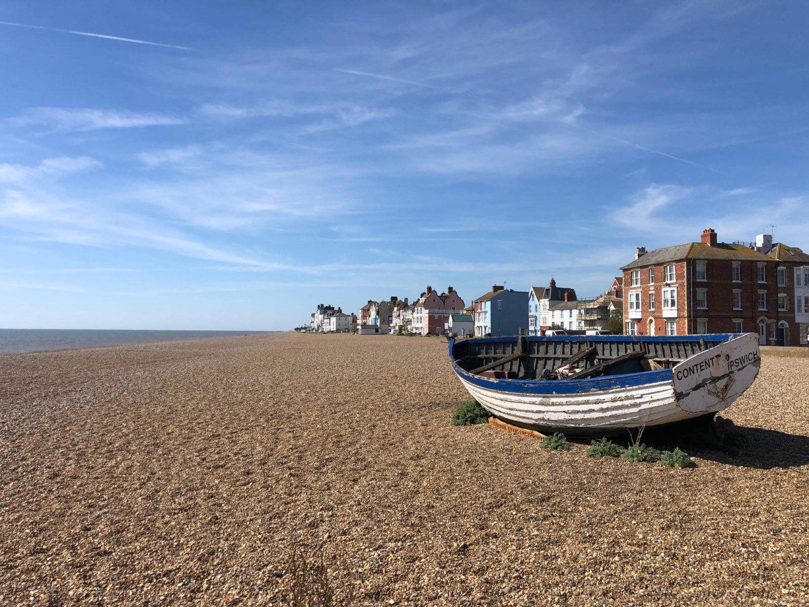 Aldeburgh Beach Summer 2021
