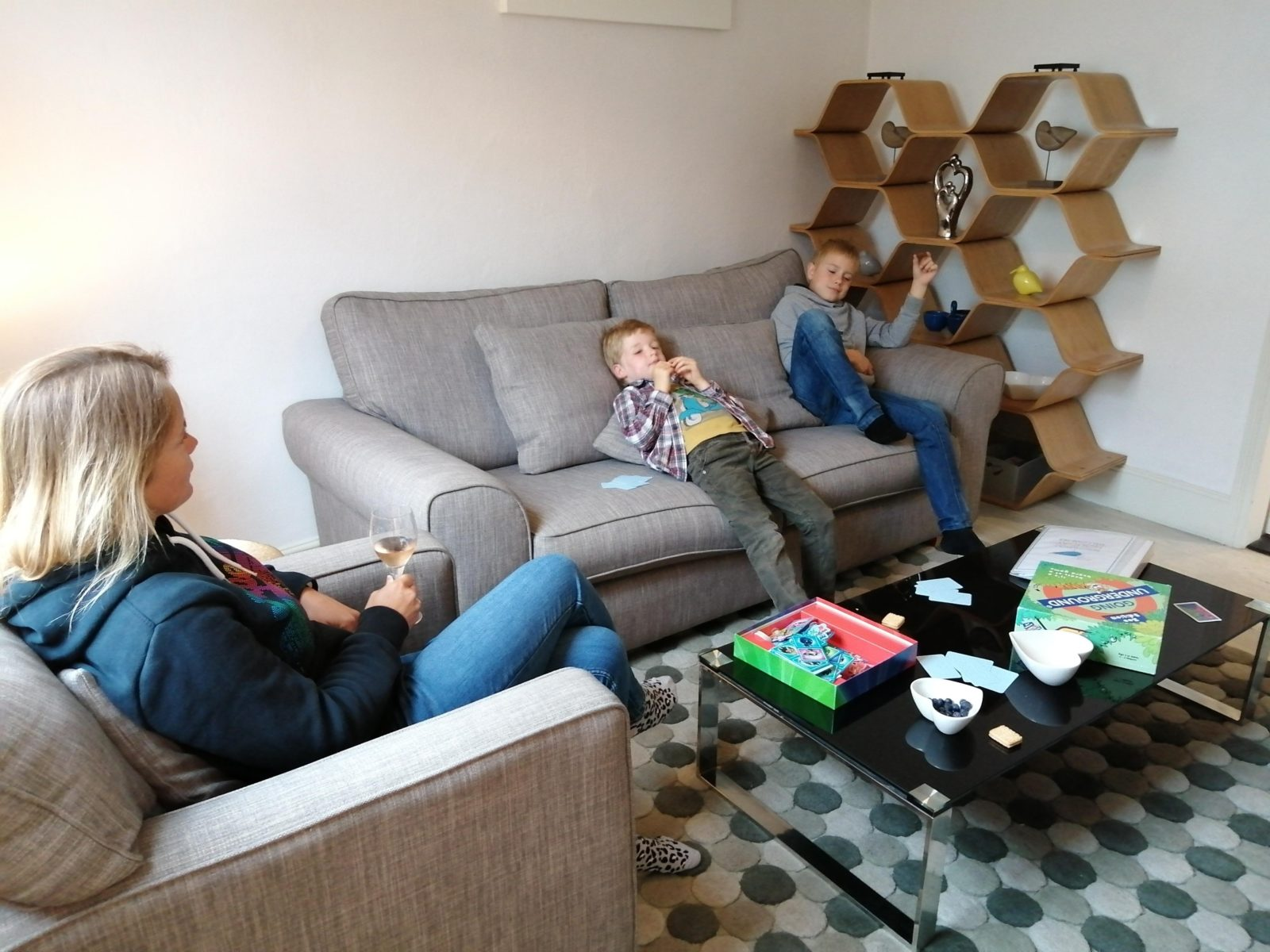 Sandpiper Cottage Sitting Room games night