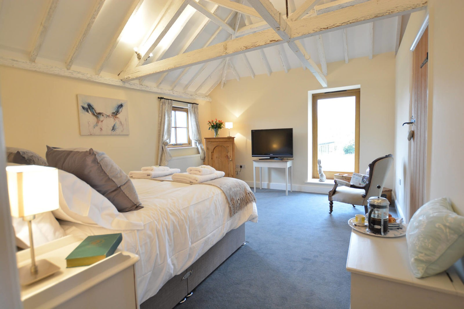 The Granary at Red House Farm Master Bedroom