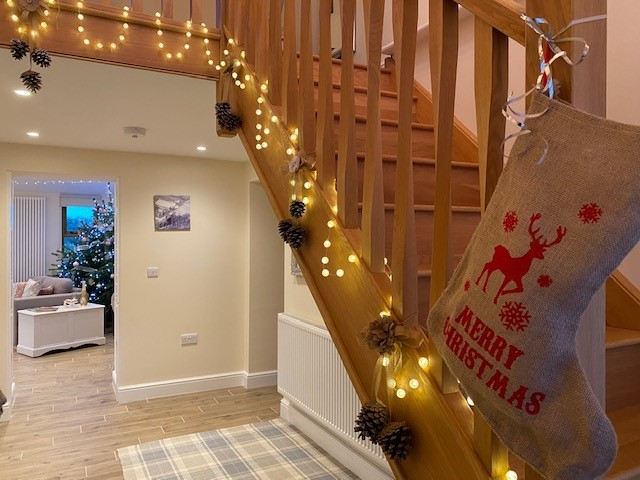 The Granary at Red House Farm Christmas Decorations