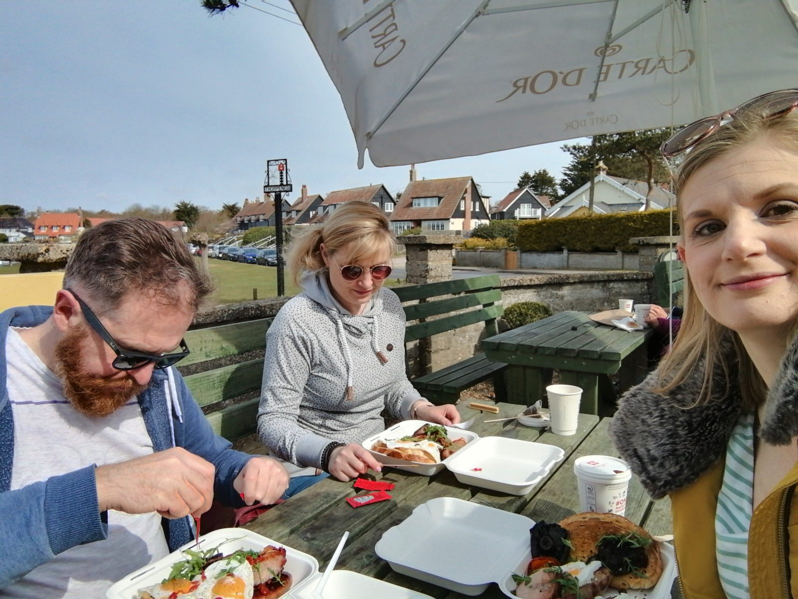 Breakfast at The Kitchen Thorpeness