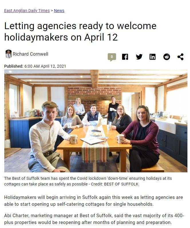 EADT 12.06.20 Ready to Welcome Holiday Makers