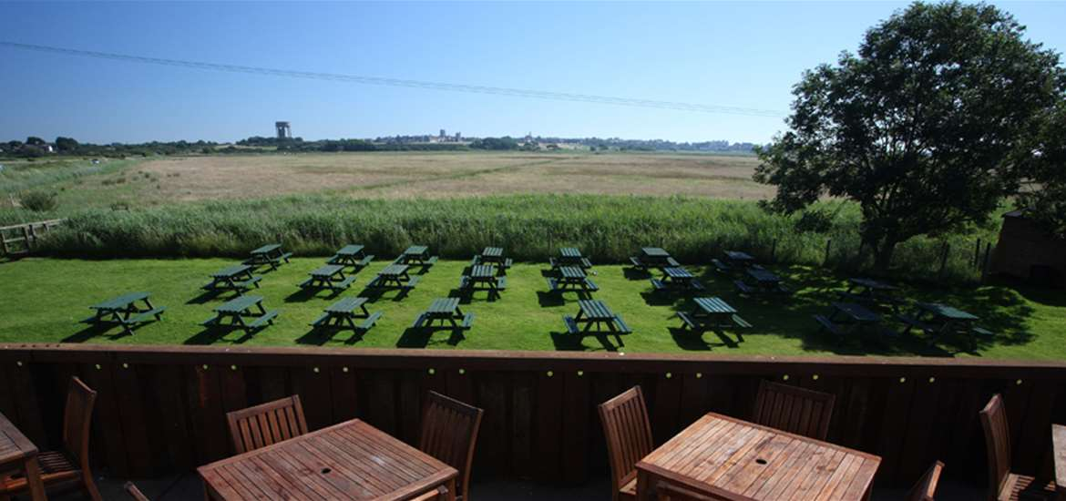 Harbour Inn Southwold Outdoor Dining