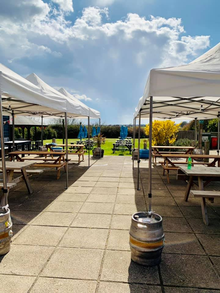 The Jolly Sailor Orford Outdoor Dining