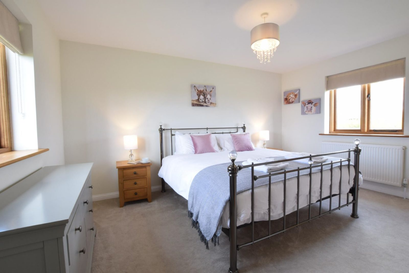 The Mulberry Master Bedroom