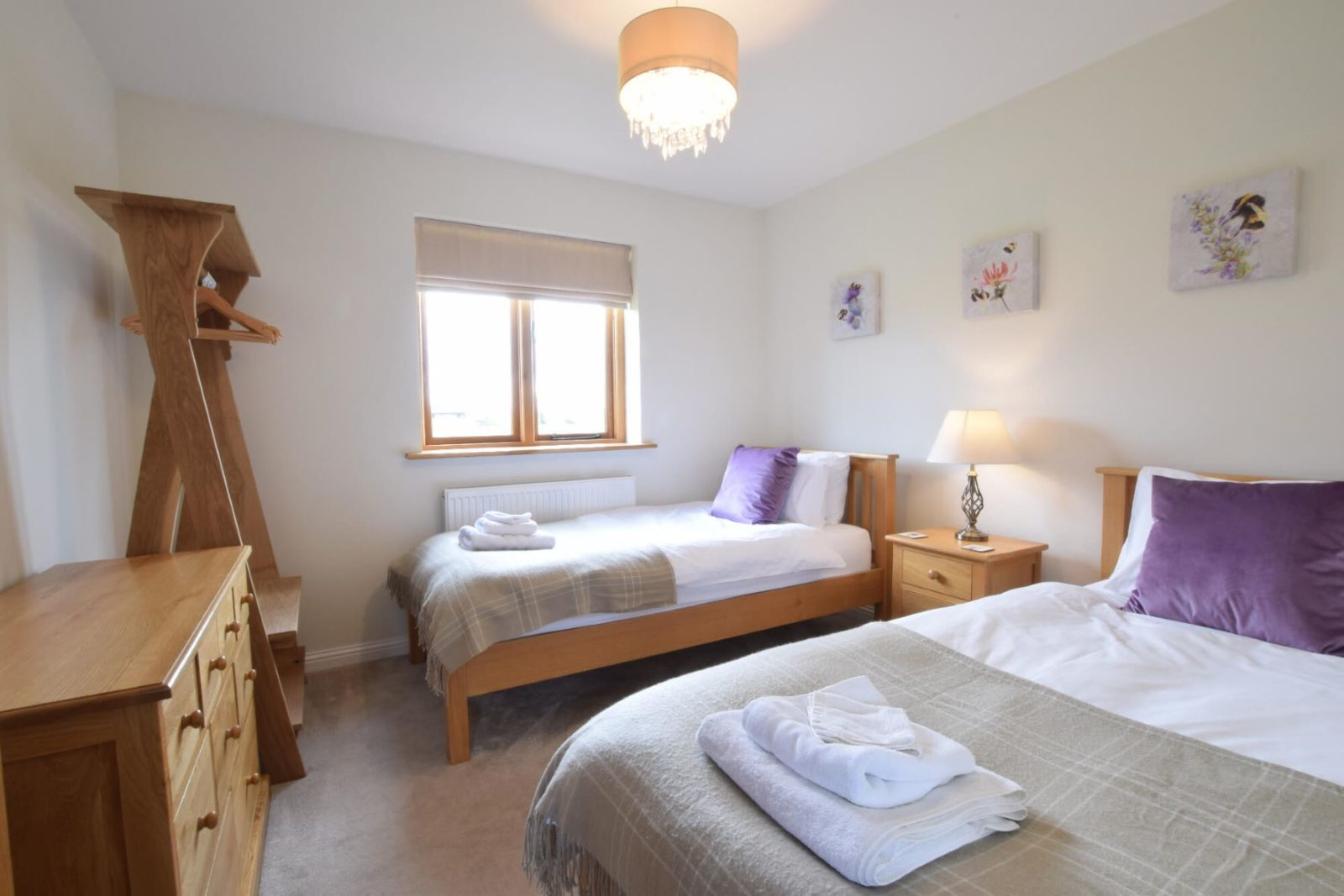 The Mulberry Twin Bedroom