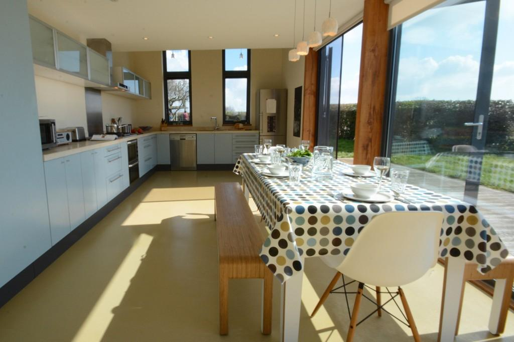 The Kitchen at Upper Lodge, Shotely